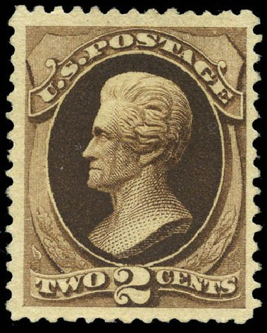 US Stamp Price Scott Cat. #193 - 2c 1880 Jackson Special Printing. Matthew Bennett International, Mar 2011, Sale 336, Lot 1210