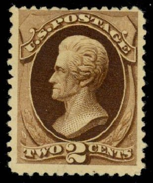 US Stamps Value Scott Cat. #193 - 2c 1880 Jackson Special Printing. Daniel Kelleher Auctions, May 2014, Sale 652, Lot 310