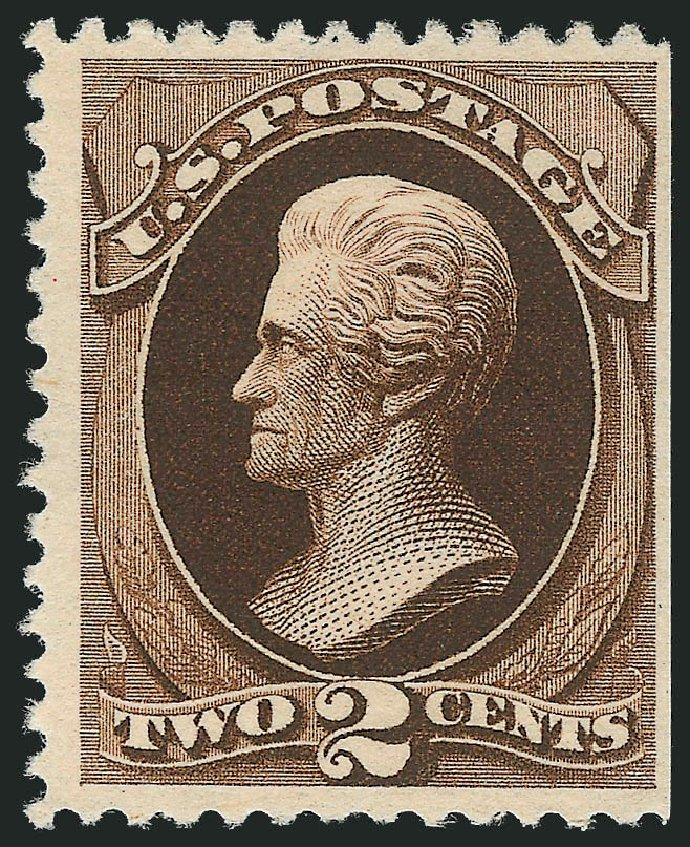 Prices of US Stamps Scott Catalog # 193 - 1880 2c Jackson Special Printing. Robert Siegel Auction Galleries, Dec 2012, Sale 1037, Lot 1754