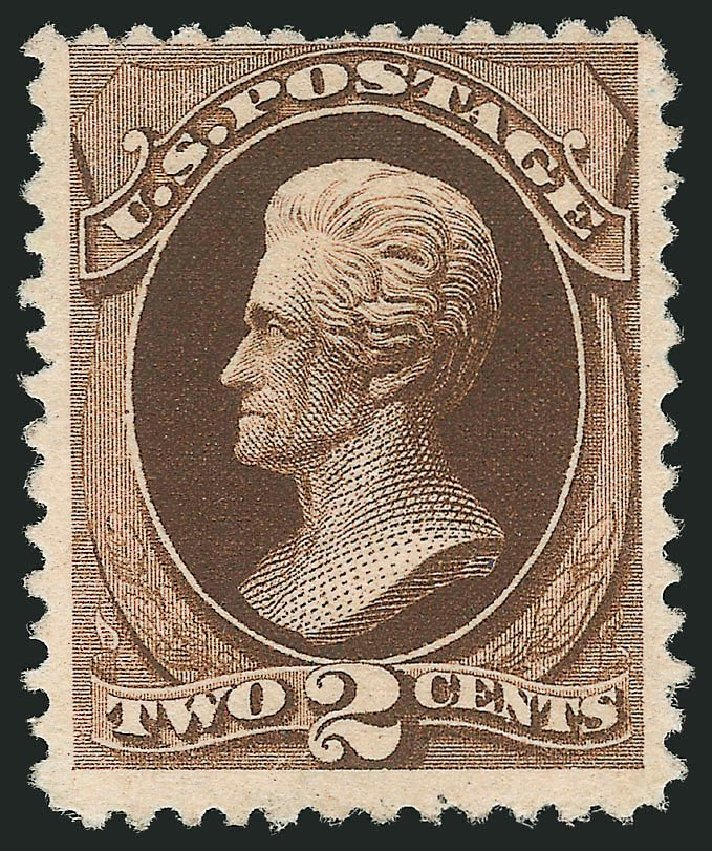 Cost of US Stamp Scott Catalog #193: 2c 1880 Jackson Special Printing. Robert Siegel Auction Galleries, Sep 2014, Sale 1078, Lot 324