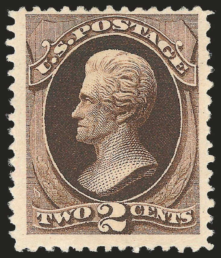 US Stamps Price Scott Catalogue # 193: 2c 1880 Jackson Special Printing. Robert Siegel Auction Galleries, Apr 2009, Sale 972, Lot 3193