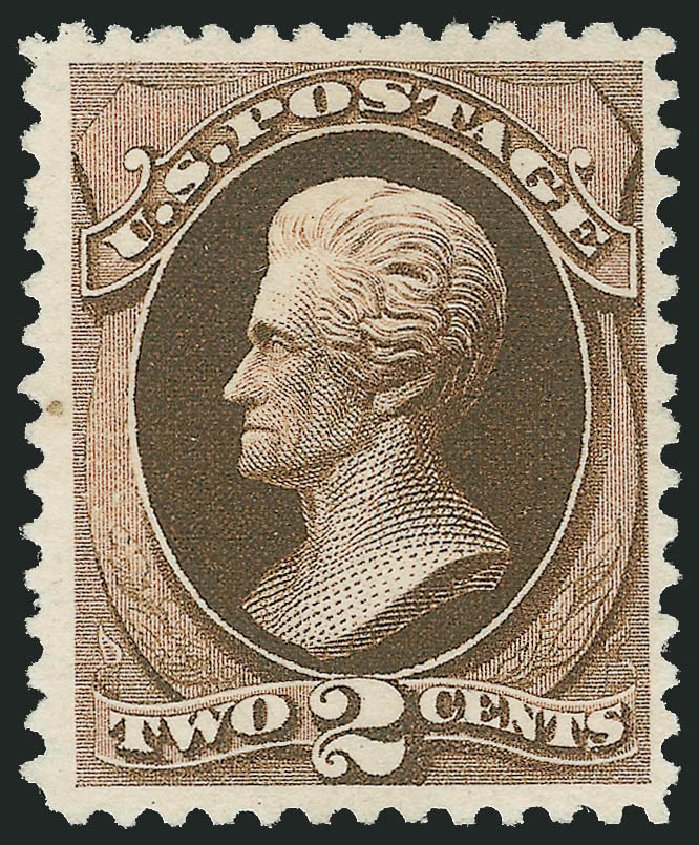 Costs of US Stamp Scott Catalogue # 193: 2c 1880 Jackson Special Printing. Robert Siegel Auction Galleries, Oct 2010, Sale 997, Lot 5613