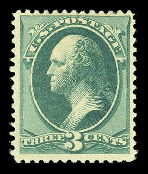 US Stamps Prices Scott Catalog # 194: 3c 1880 Washington Special Printing. Matthew Bennett International, Sep 2012, Sale 345, Lot 228