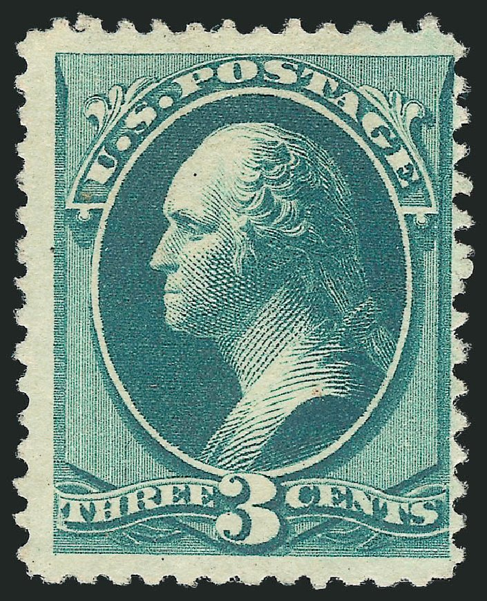 Prices of US Stamp Scott Cat. #194 - 1880 3c Washington Special Printing. Robert Siegel Auction Galleries, Apr 2015, Sale 1096, Lot 346