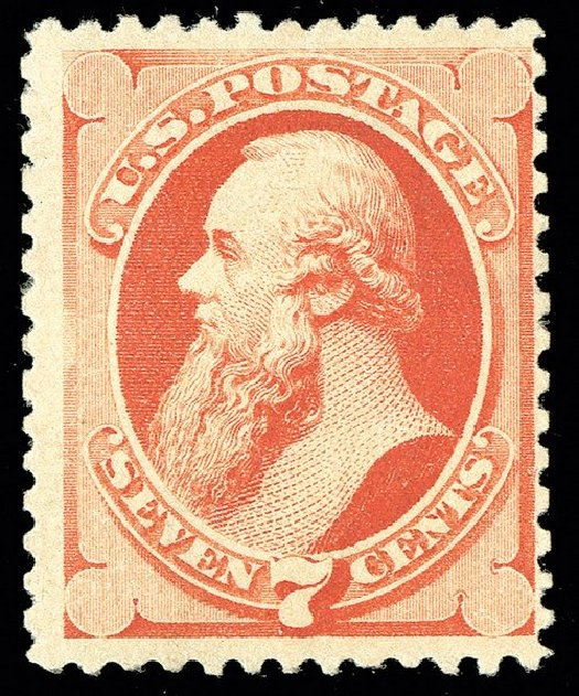 Value of US Stamps Scott Catalogue 196 - 7c 1880 Stanton Special Printing. Spink Shreves Galleries, May 2014, Sale 148, Lot 182