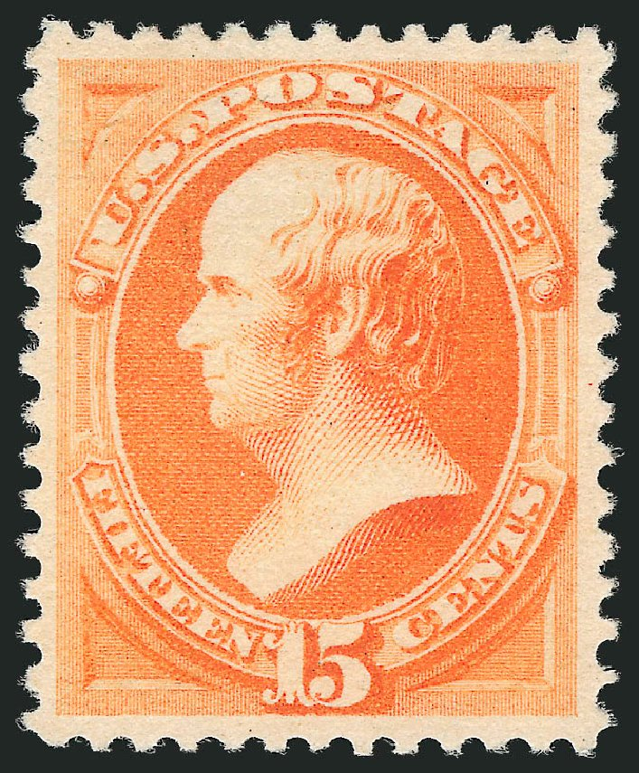 Price of US Stamps Scott Catalog # 199: 1880 15c Webster Special Printing. Robert Siegel Auction Galleries, Dec 2012, Sale 1036, Lot 132