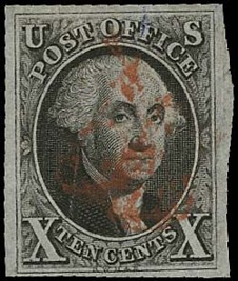 Prices of US Stamps Scott Catalogue # 2: 1847 10c Franklin. Regency-Superior, Aug 2015, Sale 112, Lot 39