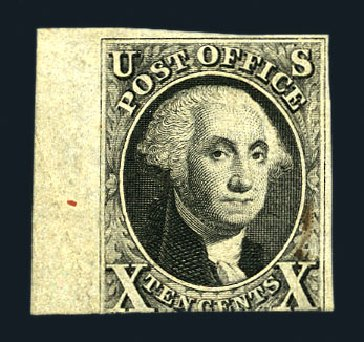 Cost of US Stamp Scott # 2: 1847 10c Franklin. Harmer-Schau Auction Galleries, Aug 2015, Sale 106, Lot 1245