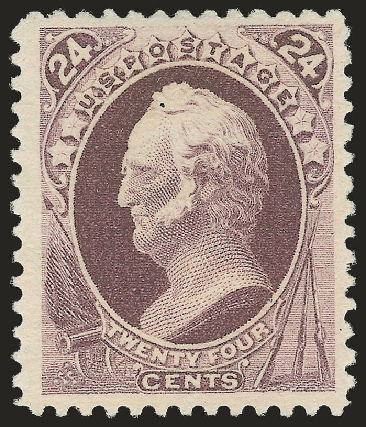 US Stamp Value Scott Catalogue #200 - 24c 1880 Winfield Scott Special Printing. Robert Siegel Auction Galleries, Apr 2009, Sale 972, Lot 3199
