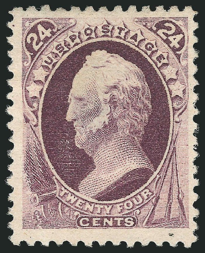 US Stamp Values Scott Catalog # 200: 1880 24c Winfield Scott Special Printing. Robert Siegel Auction Galleries, Nov 2013, Sale 1057, Lot 785