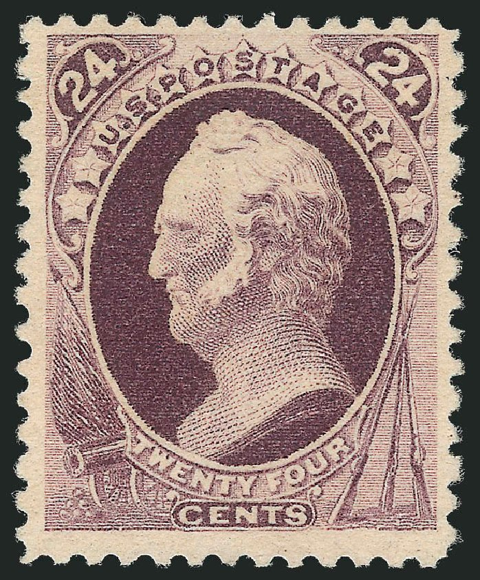 US Stamps Values Scott Cat. # 200: 1880 24c Winfield Scott Special Printing. Robert Siegel Auction Galleries, Apr 2015, Sale 1096, Lot 352