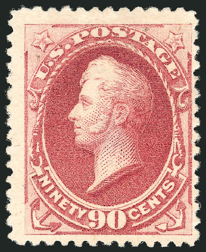Costs of US Stamp Scott Catalog #202 - 90c 1880 Perry Special Printing. Robert Siegel Auction Galleries, Nov 2013, Sale 1057, Lot 787