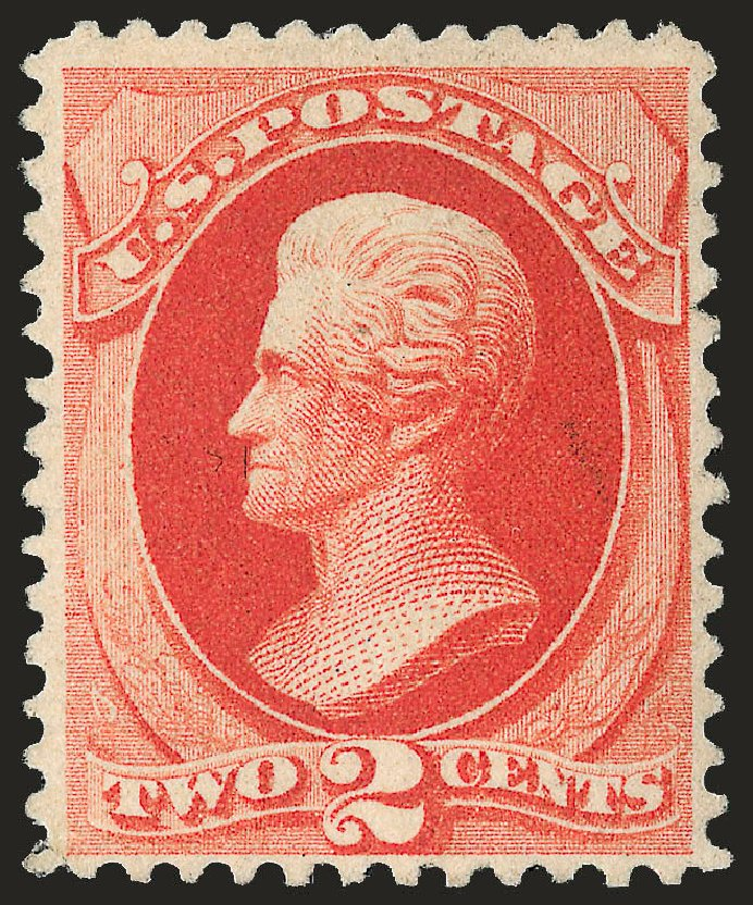 US Stamp Price Scott Catalog 203 - 1880 2c Jackson Special Printing. Robert Siegel Auction Galleries, Jun 2009, Sale 973, Lot 146