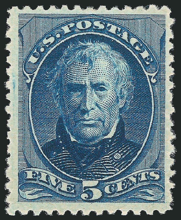 US Stamps Value Scott Catalog # 204 - 5c 1880 Taylor Special Printing. Robert Siegel Auction Galleries, Dec 2012, Sale 1036, Lot 137