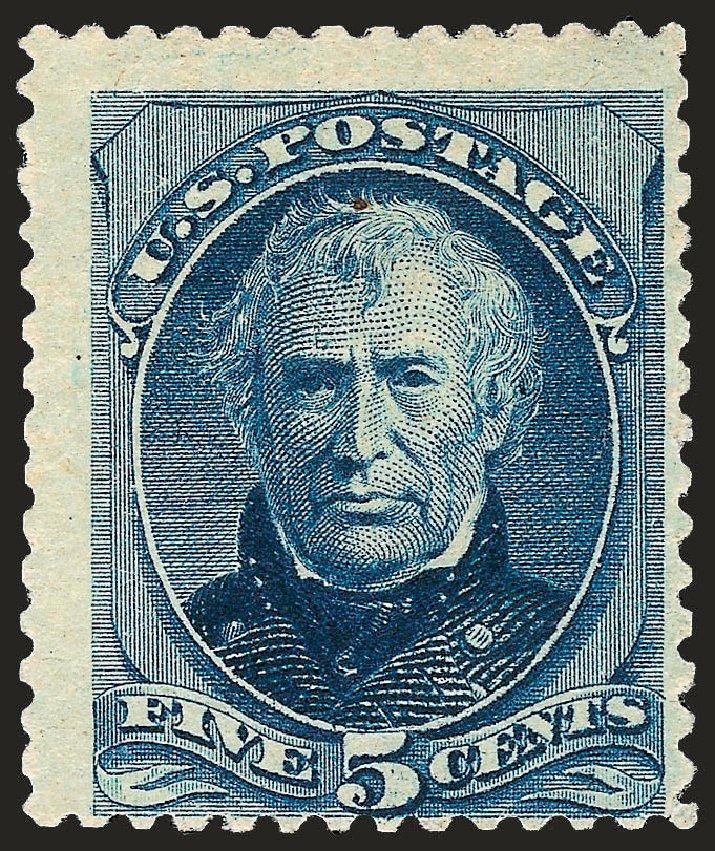 Price of US Stamp Scott #204: 1880 5c Taylor Special Printing. Robert Siegel Auction Galleries, Jun 2009, Sale 973, Lot 147
