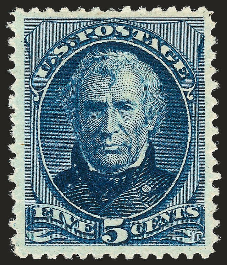 Prices of US Stamp Scott Cat. 204 - 1880 5c Taylor Special Printing. Robert Siegel Auction Galleries, Oct 2008, Sale 963, Lot 828