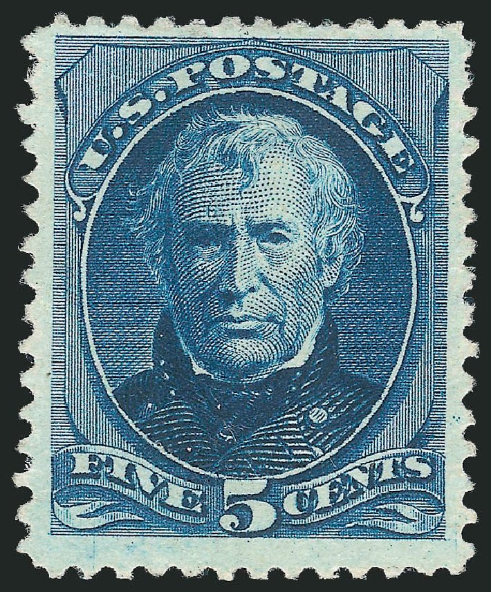 Values of US Stamps Scott 204: 5c 1880 Taylor Special Printing. Robert Siegel Auction Galleries, Apr 2015, Sale 1096, Lot 355