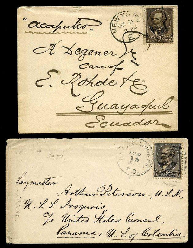 US Stamp Value Scott Catalogue 205: 1882 5c Garfield. Harmer-Schau Auction Galleries, Aug 2015, Sale 106, Lot 1584