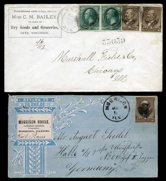 Costs of US Stamps Scott Cat. #205 - 1882 5c Garfield. Harmer-Schau Auction Galleries, Aug 2015, Sale 106, Lot 1586