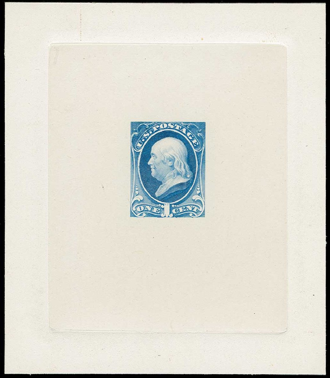 Price of US Stamps Scott Cat. # 206: 1882 1c Franklin. H.R. Harmer, Jun 2015, Sale 3007, Lot 3040