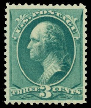 US Stamps Prices Scott Catalog # 207: 3c 1882 Washington. Daniel Kelleher Auctions, May 2014, Sale 653, Lot 2139