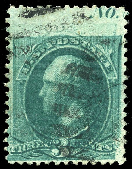 Costs of US Stamps Scott Cat. # 207: 3c 1882 Washington. Matthew Bennett International, Feb 2015, Sale 351, Lot 135