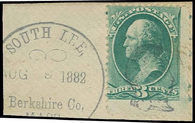 US Stamp Prices Scott Catalogue #207: 1882 3c Washington. H.R. Harmer, Oct 2014, Sale 3006, Lot 1235