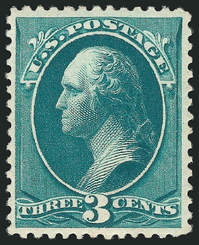 Cost of US Stamp Scott Catalogue # 207: 3c 1882 Washington. Robert Siegel Auction Galleries, May 2013, Sale 1044, Lot 166