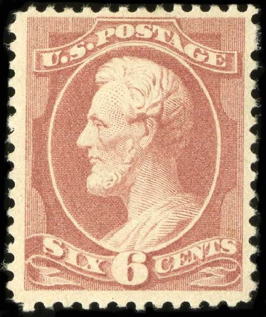 Prices of US Stamp Scott Catalog #208 - 1882 6c Lincoln. Spink Shreves Galleries, Jul 2015, Sale 151, Lot 169