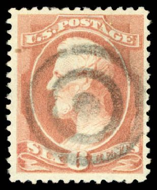 Price of US Stamp Scott Cat. # 208: 6c 1882 Lincoln. Daniel Kelleher Auctions, Aug 2015, Sale 672, Lot 2450