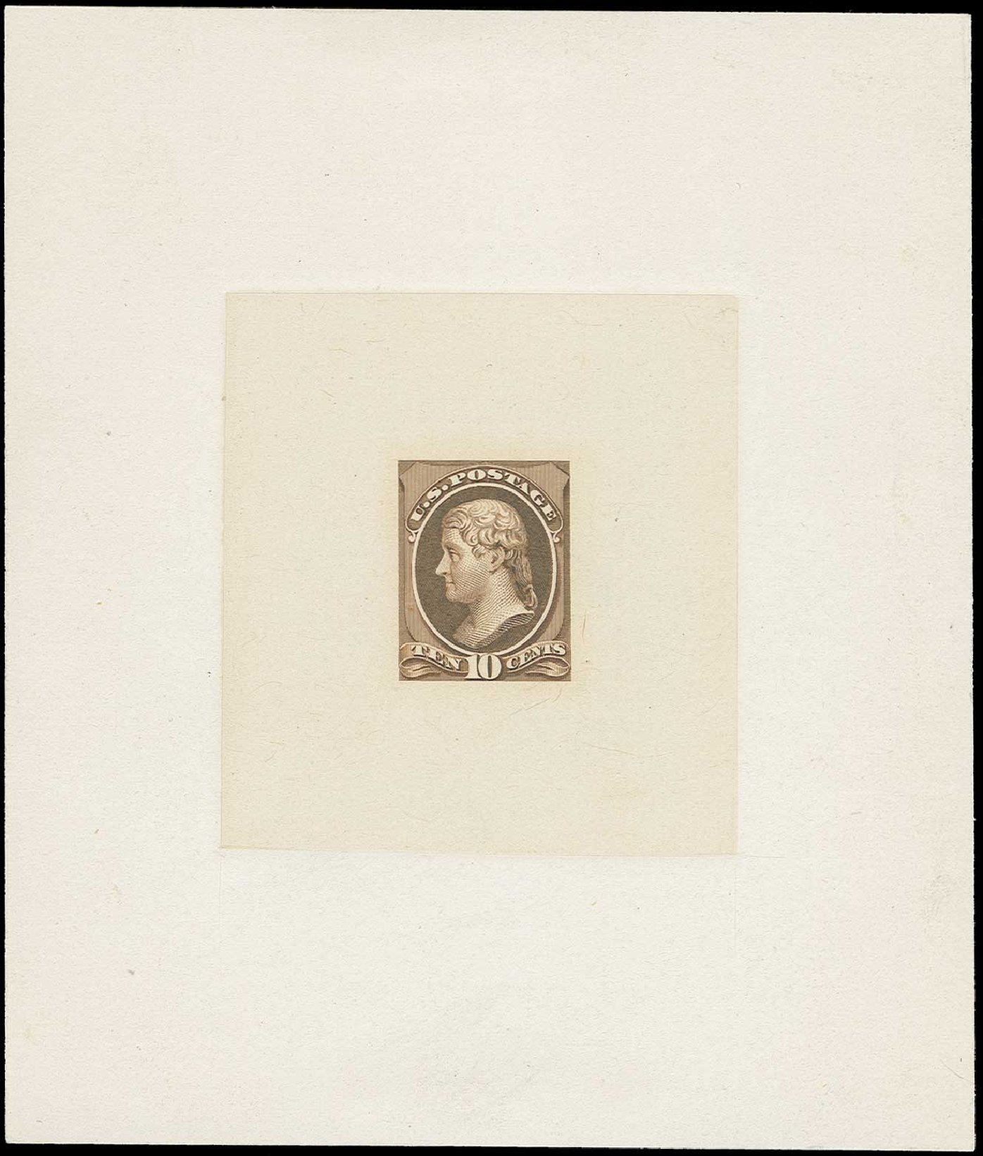 US Stamp Prices Scott #209 - 1882 10c Thomas Jefferson. H.R. Harmer, Jun 2015, Sale 3007, Lot 3041