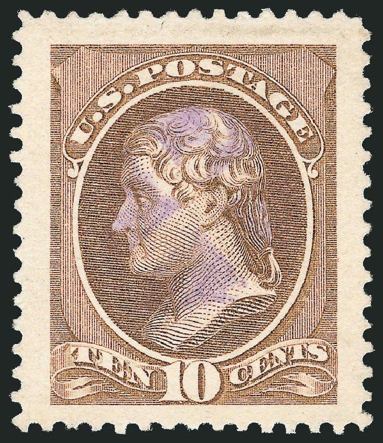 US Stamp Price Scott 209 10c 1882 Thomas Jefferson Robert Siegel Auction Galleries