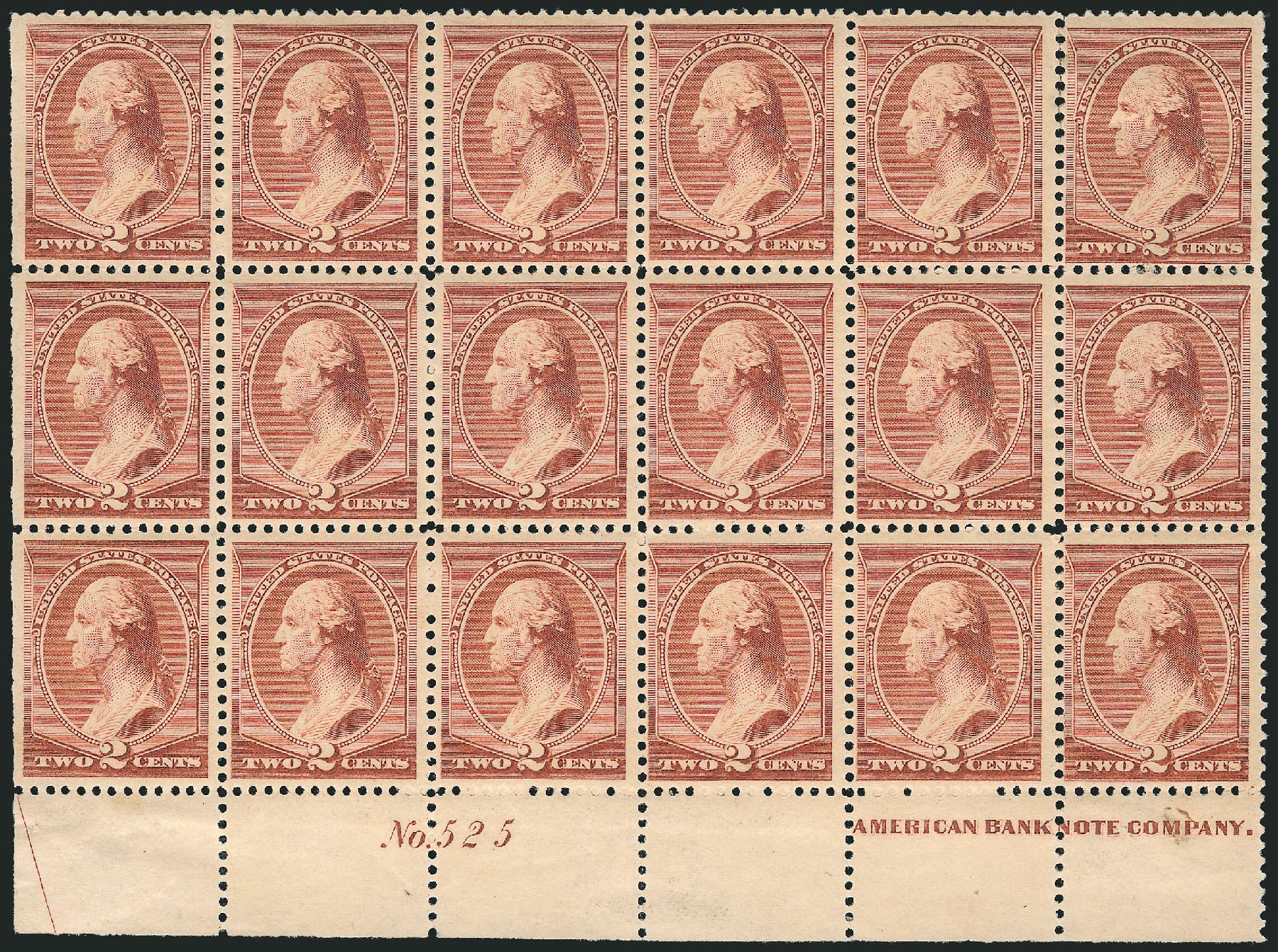 Prices of US Stamp Scott Cat. #210 - 1883 2c Washington. Robert Siegel Auction Galleries, Apr 2015, Sale 1096, Lot 367