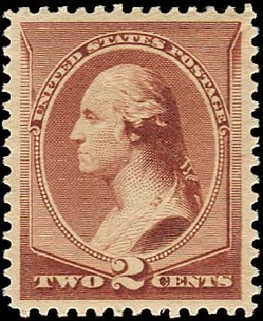 US Stamps Prices Scott Cat. #210 - 2c 1883 Washington. Regency-Superior, Jan 2015, Sale 109, Lot 850