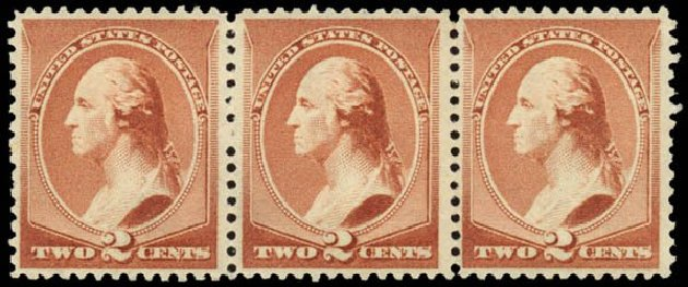 US Stamps Value Scott # 210 - 2c 1883 Washington. Daniel Kelleher Auctions, May 2014, Sale 652, Lot 314