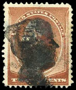 US Stamp Price Scott Catalog 210: 1883 2c Washington. Harmer-Schau Auction Galleries, Aug 2014, Sale 102, Lot 1815