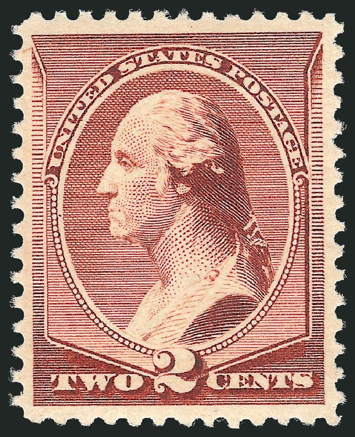 US Stamps Price Scott Cat. 210: 2c 1883 Washington. Robert Siegel Auction Galleries, Dec 2014, Sale 1090, Lot 1362