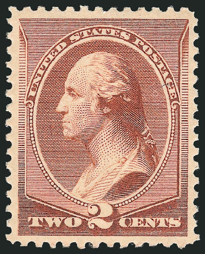 Price of US Stamp Scott # 210 - 1883 2c Washington. Robert Siegel Auction Galleries, Dec 2014, Sale 1090, Lot 1363