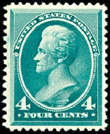 Value of US Stamp Scott Catalog #211 - 4c 1883 Jackson. Schuyler J. Rumsey Philatelic Auctions, Apr 2015, Sale 60, Lot 2189