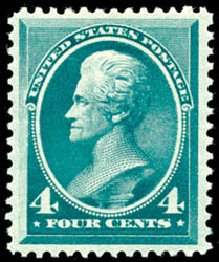 Price of US Stamp Scott Cat. #211: 1883 4c Jackson. Schuyler J. Rumsey Philatelic Auctions, Apr 2015, Sale 60, Lot 2190