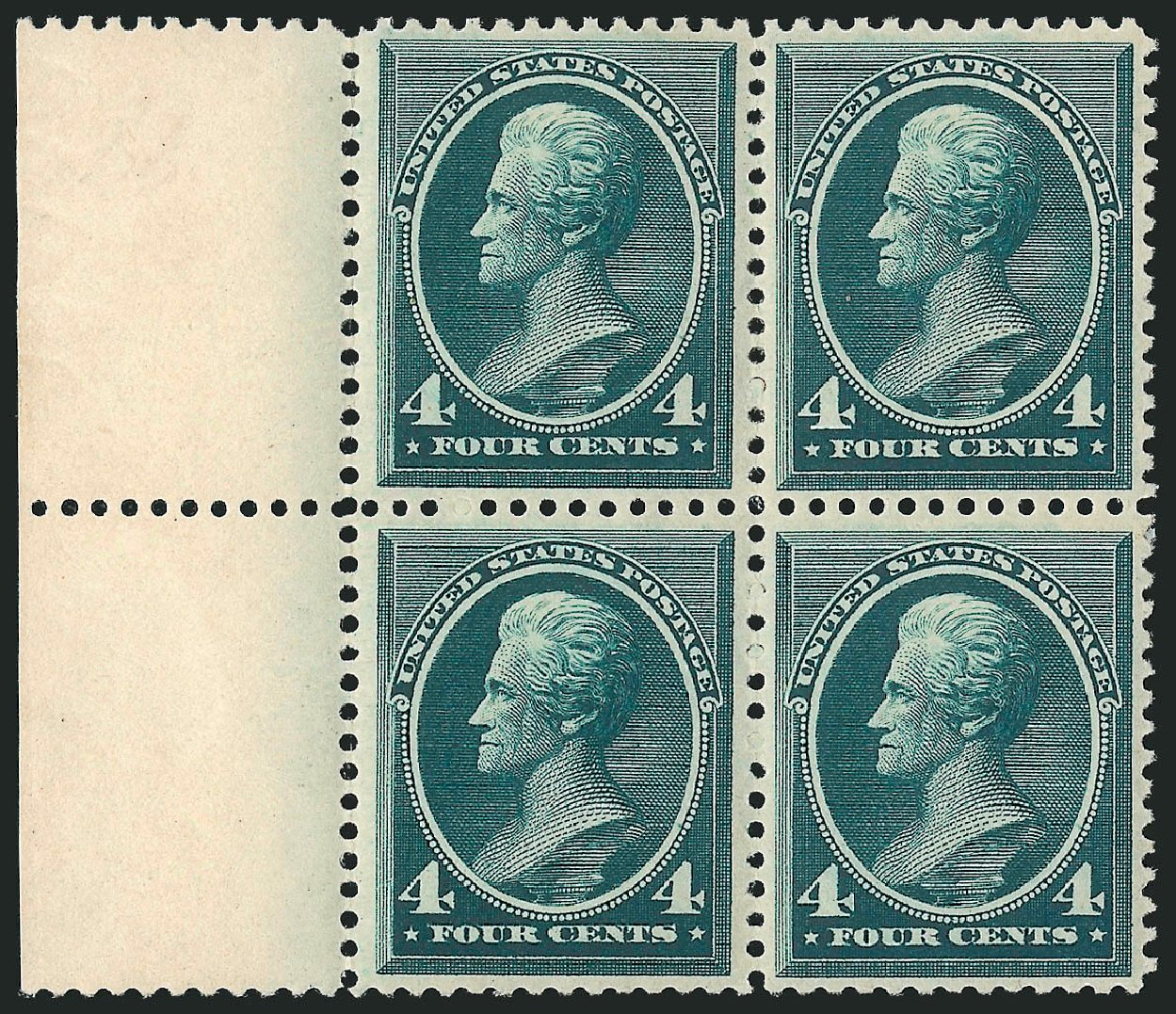 Price of US Stamp Scott Catalog # 211: 1883 4c Jackson. Robert Siegel Auction Galleries, Apr 2015, Sale 1096, Lot 371