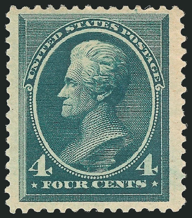 Price of US Stamp Scott #211: 1883 4c Jackson. Robert Siegel Auction Galleries, Dec 2014, Sale 1090, Lot 1365