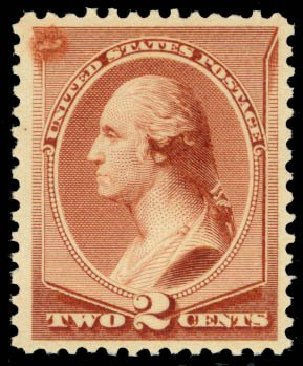 Costs of US Stamps Scott Catalog #211B: 2c 1883 Washington Special Printing. Daniel Kelleher Auctions, Oct 2014, Sale 660, Lot 2187