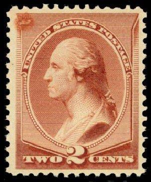 Costs of US Stamps Scott Catalog #211B: 2c 1883 Washington Special Printing. Daniel Kelleher Auctions, Oct 2014, Sale 660, Lot 2187