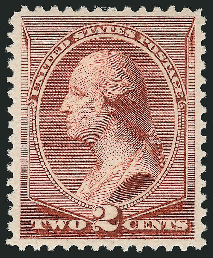 Prices of US Stamps Scott # 211B - 1883 2c Washington Special Printing. Robert Siegel Auction Galleries, Feb 2015, Sale 1092, Lot 1147