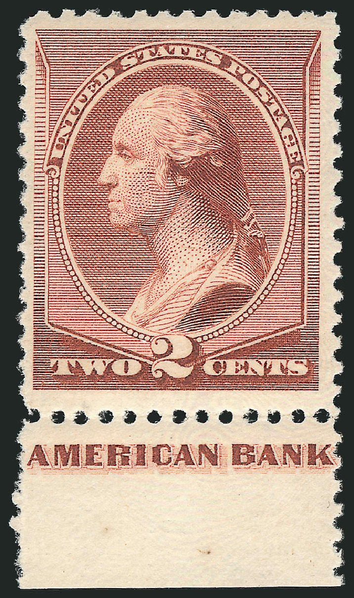Values of US Stamp Scott Catalog #211B - 2c 1883 Washington Special Printing. Robert Siegel Auction Galleries, Feb 2015, Sale 1092, Lot 1148
