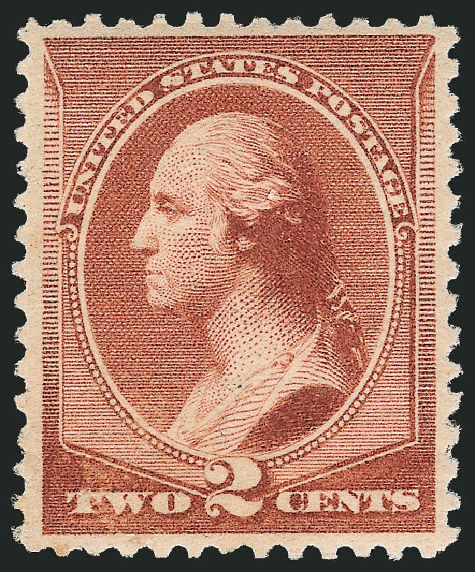 Price of US Stamp Scott Catalogue 211B: 2c 1883 Washington Special Printing. Robert Siegel Auction Galleries, Apr 2015, Sale 1096, Lot 368