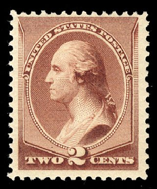 Costs of US Stamp Scott Catalog 211B: 2c 1883 Washington Special Printing. Cherrystone Auctions, Mar 2015, Sale 201503, Lot 20