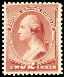 Value of US Stamp Scott Cat. #211B: 1883 2c Washington Special Printing. Schuyler J. Rumsey Philatelic Auctions, Apr 2015, Sale 60, Lot 2191