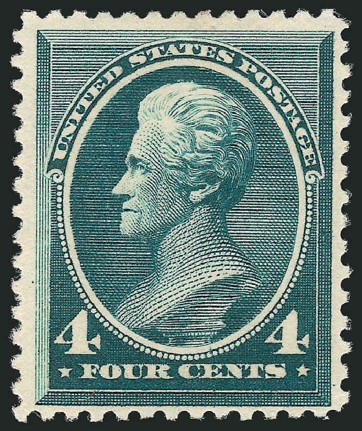 Cost of US Stamp Scott 211D - 4c 1883 Jackson Special Printing. Robert Siegel Auction Galleries, Dec 2012, Sale 1036, Lot 140